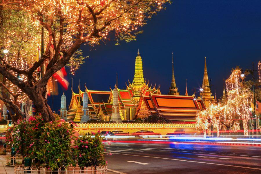 Phra Si Rattana Satsadaram Temple or Phra Kaew Temple, Bangkok