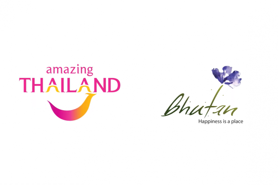 Thailand Bhutan Tourism Logos 2