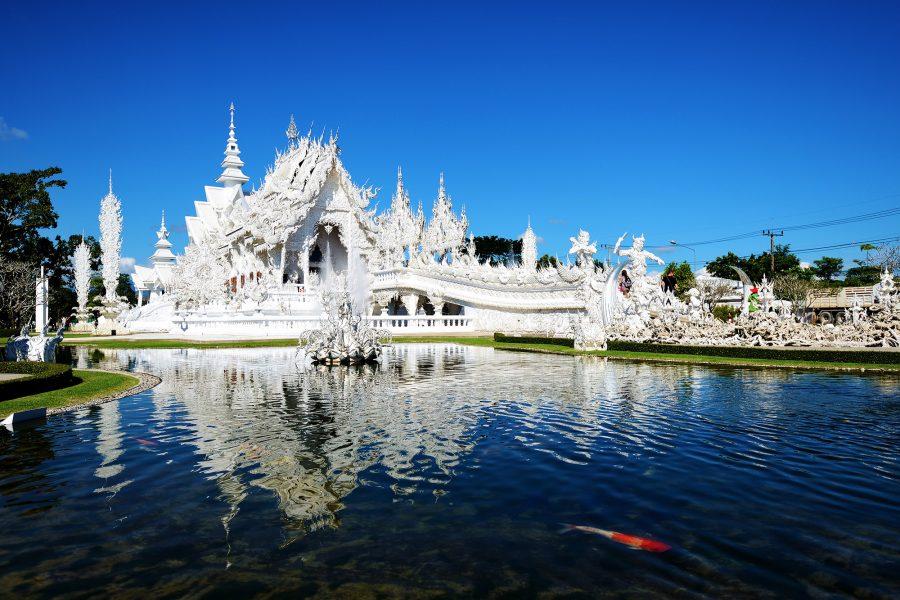 White Temple, Chiang Rai. Wat Rong Khun, Chiang Rai